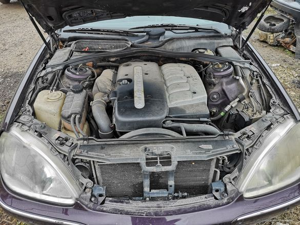 Двигател, Турбо, Помпа и дюзи, Автоматична кутия, за Мерцедес S320 CDI
