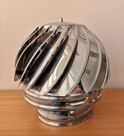 Коминна въртяща шапка, Инокс 430, Ф 80 - Ф 350, шапка за комин