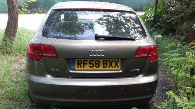 Hayon cu luneta Audi A3 Break ( Sportback ) Facelift 2008