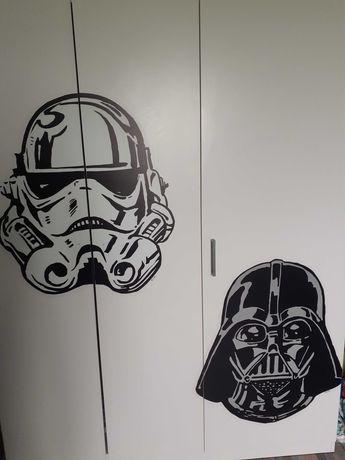 Stickere Star Wars Stormtrooper Darth Vader noi