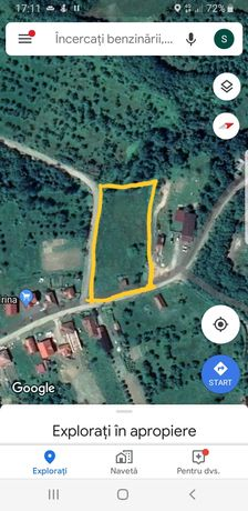 Teren de vânzare în Lechința,Călinesti-Oaș