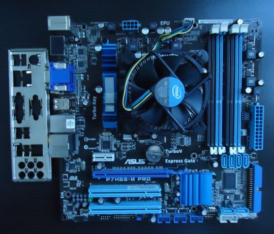 Placi de baza PC + Procesor socket 1155, 1156