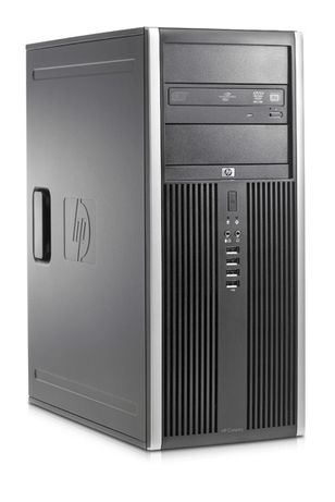PC HP DualCore E5500 2.8Ghz, 4GbDDR3, 250GB, DVD-Rw, Elite 8000