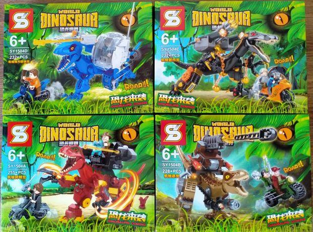 Конструктор Аналог лего Lego 4в1 Jurassic World Мир Юрского периода