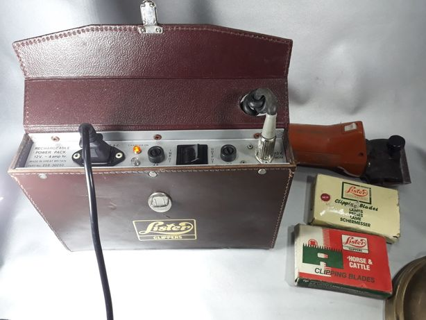 Aparat tuns cai Lister Clippers original made in England