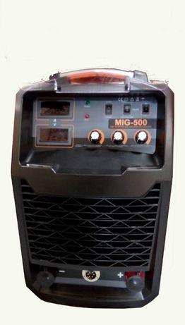 Телоподаващ апарат професионален ТИГТАГ MIG500 Ампера трифазен
