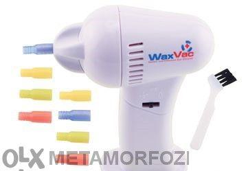 Уред за почистване на уши Wax Vac