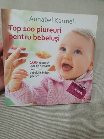 Carte Top 100 piureuri pentru bebelusi