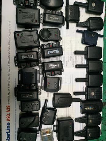 Продам антенны,датчики удара, блок Сигнализации,пульты