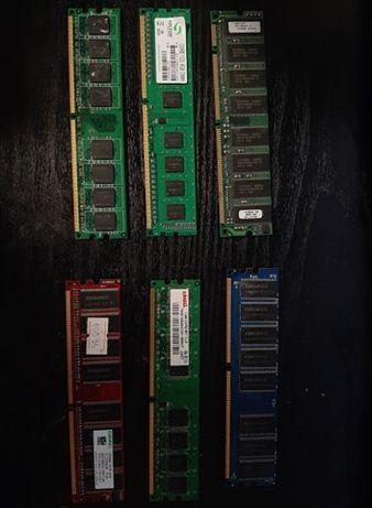 Vand 4 placute RAM 4GB DDR3/2GB DDR2/1GB DDR2/512MB,256MB,128MB DDR1