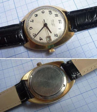 Ceas de colectie POLJOT 17J, placat cu aur, cal. 2614.2H, functional/2