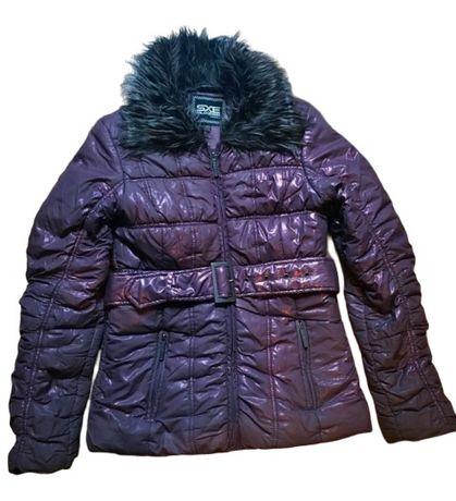 Geaca de iarna dama fas Kenvelo SXE originala stil Bershka H&M