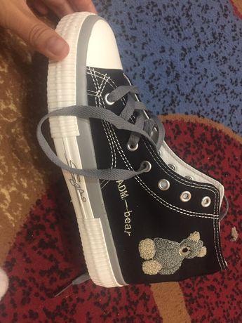 Кеды подростковая обувь