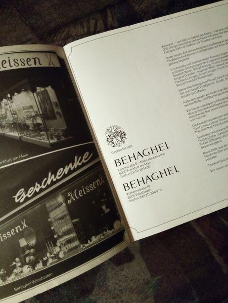 Catalogul de Aur J.M. Behaghel - Sticla și portelan