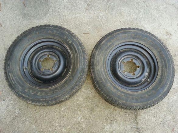 Продавам гуми с джанти 205/80/16