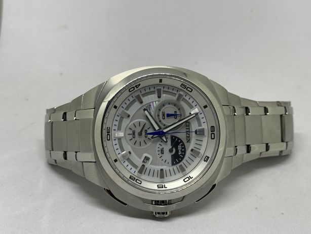 Citizen Eco-Drive Marinaut Titan 43,5 mm Quartz Safir