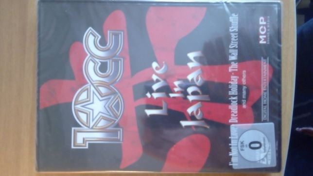 "10cc - ""Live In Japan"" DVD"