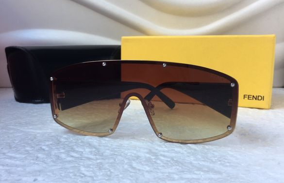 Fendi висок клас унисекс мъжки слънчеви очила дамски