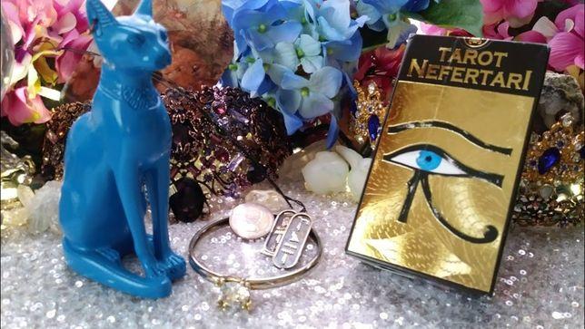 Tarotul de aur al reginei Nefertari-carti de tarot lux(aurii complet)S