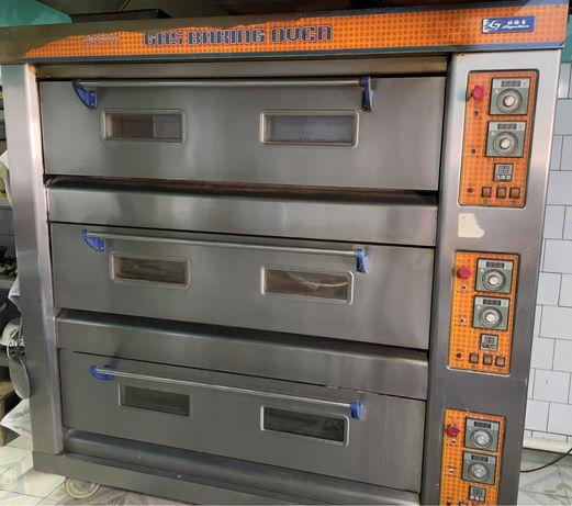 Продается жарочный шкаф 3 -секционный, газовый