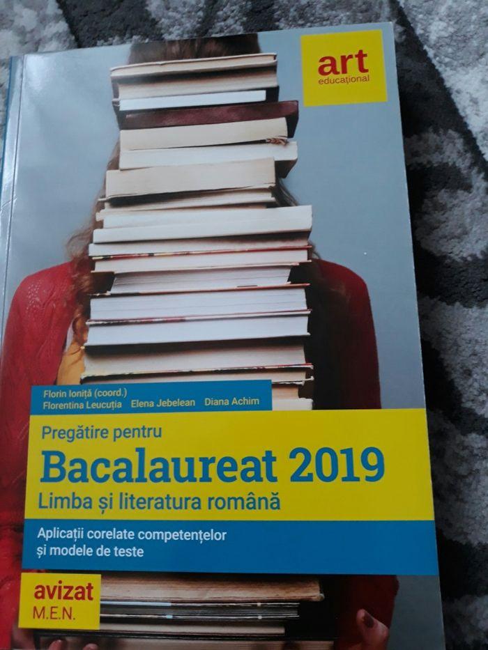Cărți pt.bacalaureat avizateMEN Bucuresti - imagine 1