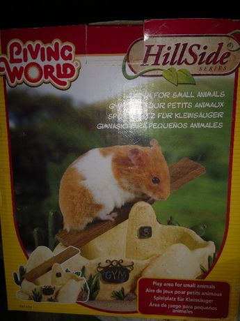 Loc de joaca hamsteri