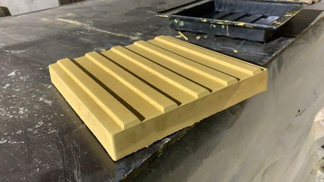 тактильные бетонные плиты