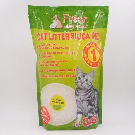 Fresh CAT силиконова тоалетна за котка с аромат