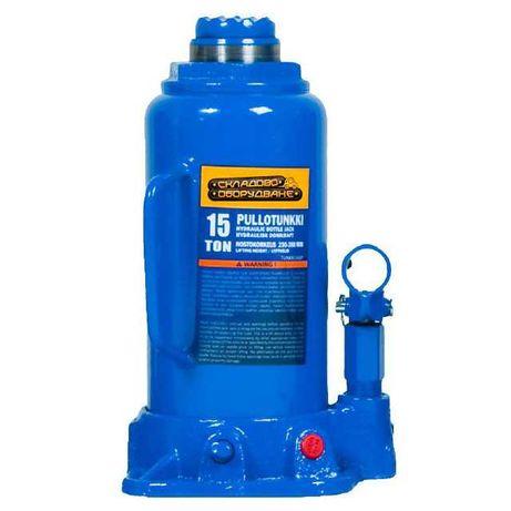 Хидравличен бутилков крик 15,0 тона, 227 – 457 мм (377 + 80 мм) и др.