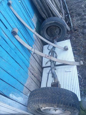 Set ax spate, foii arcuri, tamburi si roţi Fiat Cargo Doblo