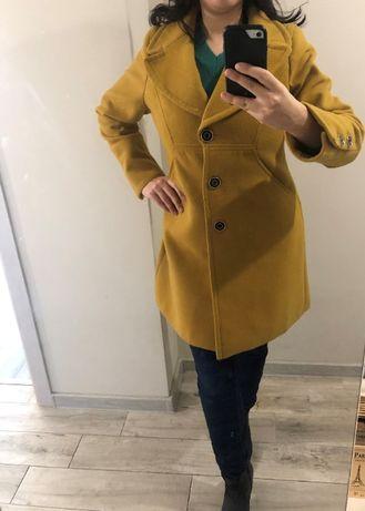 Вълнено дамско палто с кашмир