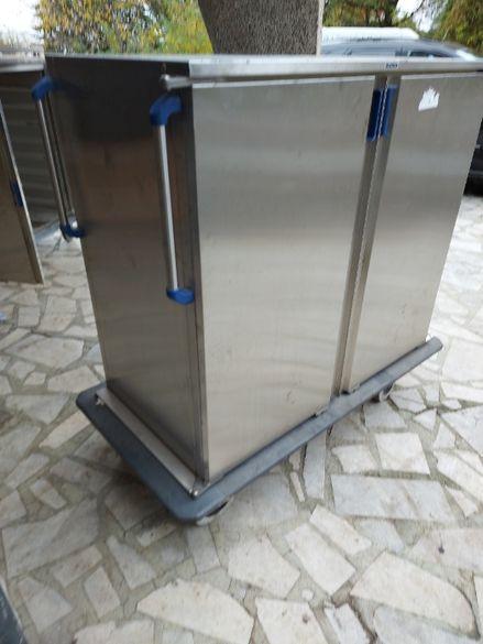 Мобилен термо шкаф 24 тави Бланко