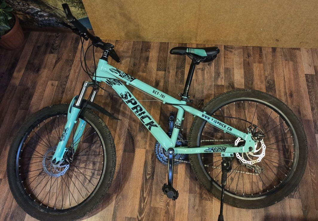 СРОЧНО!!! подростковый велосипед SPRICK (насос в подарок)