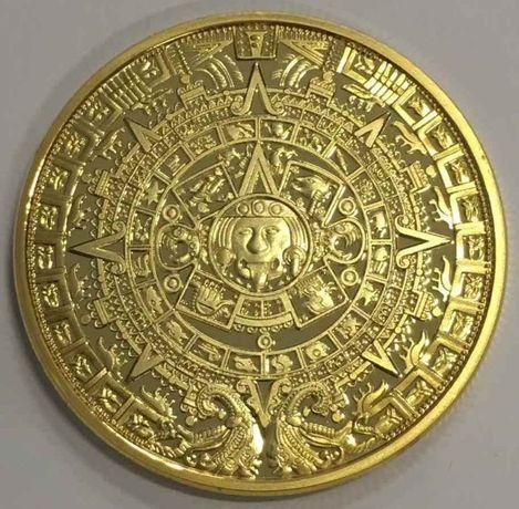 Позлатен календар на маите