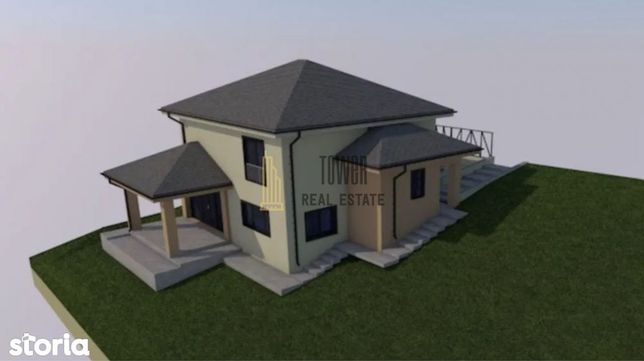 Casa Individuala | Chinteni | 12 km de centrul CJ | 120 mp