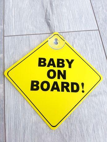 Emblema-Sigla-Logo-Sticker-Baby-On-Board-Auto