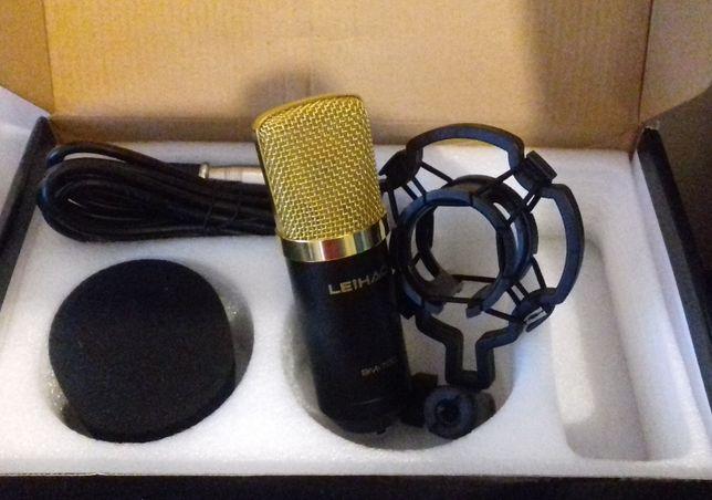 Microfon Studio set cu pop filtru si burete