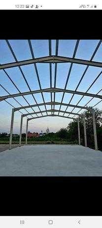 Vând hală metalică 13 m deschidere cu 53 lungime din profil IP