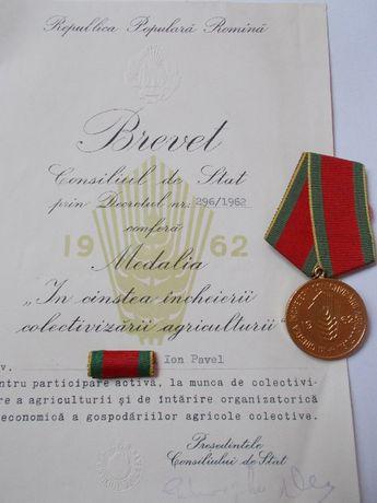 medalie +brevet