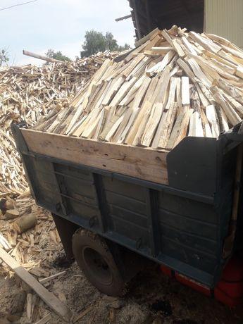 Продам дрова колотые и чурки .горбыль пиленыйот производителя от 52тыс