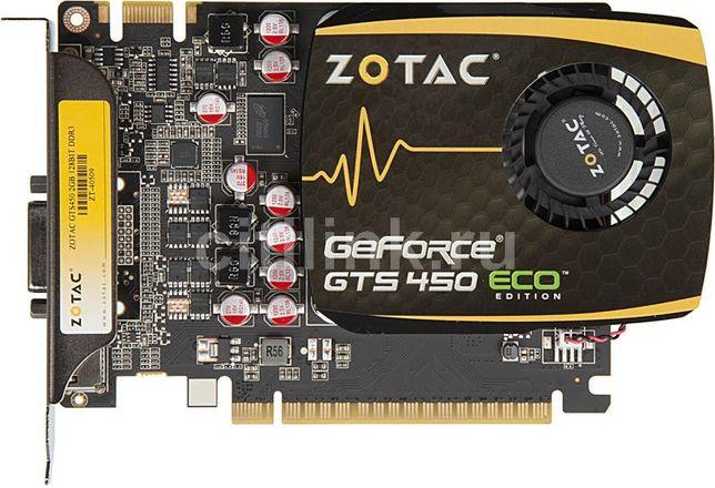 Nvidea GTS 450 1GB срочно