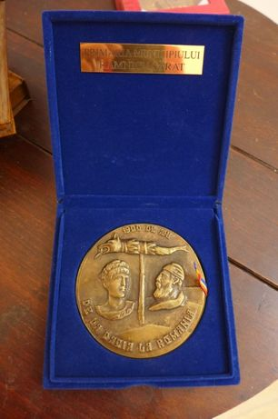 Medalie 1900 de ani de la Dacia la Romania 2006 Ramnicu Sarat