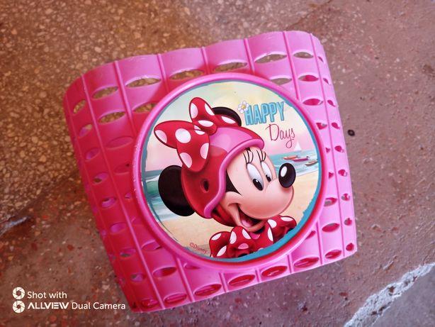 Cos bicicletă Minnie mouse