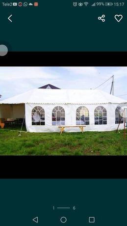 Продам белый шатыр палатка