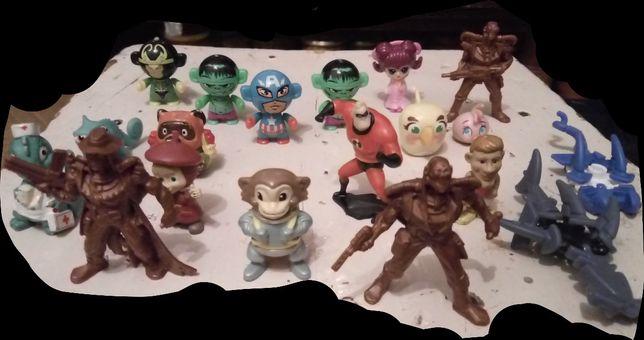 Игрушки–Герои Kinder Surprise Marvel, Angry Birds, Воины