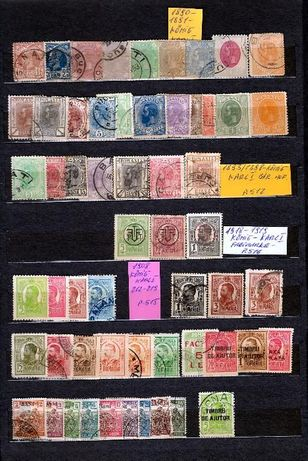 vand Timbre Romanesti din 1890-1973 toată colecția,serile.