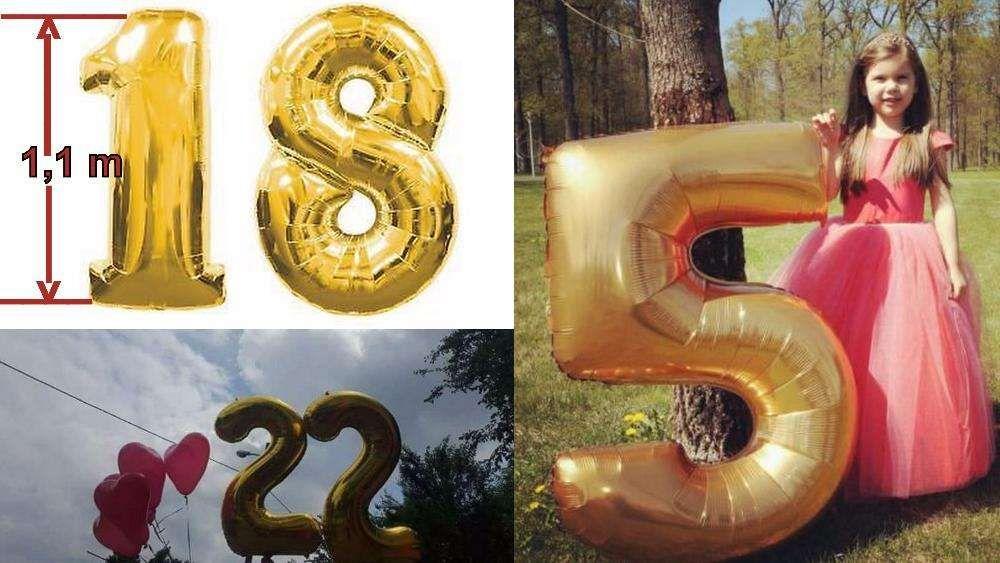 Baloane mari pentru majorat - în formă de CIFRE sau litere Piatra Neamt - imagine 1