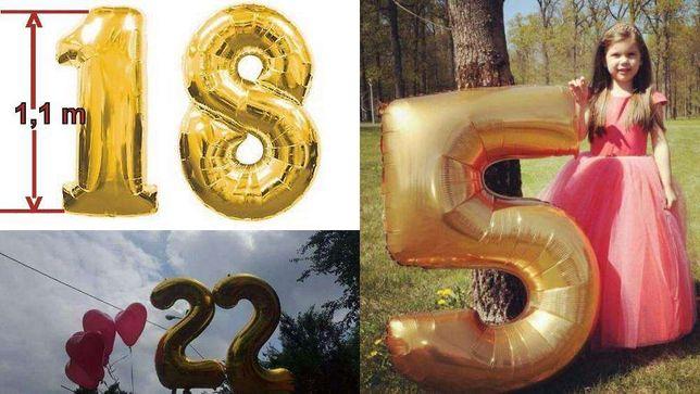Baloane mari pentru majorat - în formă de CIFRE sau litere