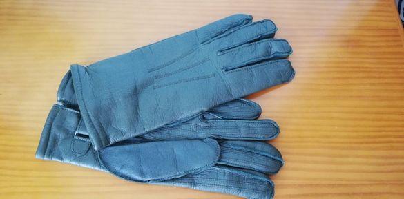 Ръкавици от естествена кожа - 3 чифта