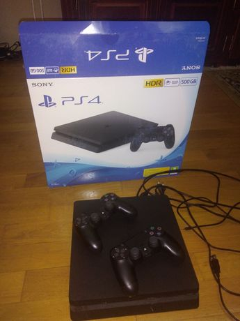 PlayStation Sony PS 4 Slim, 500GB,2 controlere wireless dualschock